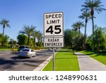 Speed Limit 45 Radar Enforced...