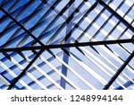 lath structure of dropped... | Shutterstock . vector #1248994144