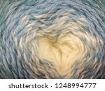 wool yarn close up. abstract... | Shutterstock . vector #1248994777