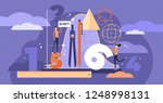 mathematics vector illustration.... | Shutterstock .eps vector #1248998131
