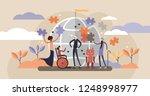 diversity flat vector... | Shutterstock .eps vector #1248998977