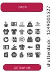 vector icons pack of 25 filled...   Shutterstock .eps vector #1249001527