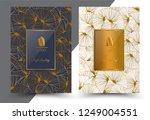 luxury premium menu design... | Shutterstock .eps vector #1249004551