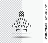 precision  accure  geometry ... | Shutterstock .eps vector #1249017724