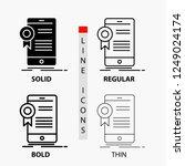 certificate  certification  app ... | Shutterstock .eps vector #1249024174
