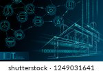 internet of things low poly... | Shutterstock .eps vector #1249031641