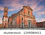 Imola, Bologna, Emilia-Romagna, Italy: the medieval cathedral of San Cassiano in the old town of the ancient city