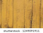 old obsolete yellow painted... | Shutterstock . vector #1249091911
