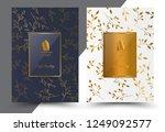 luxury premium menu design... | Shutterstock .eps vector #1249092577