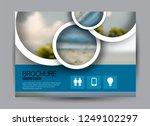 flyer  brochure  billboard... | Shutterstock .eps vector #1249102297