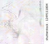 weird background and texture... | Shutterstock . vector #1249111804