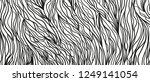 wavy intricate background. hand ... | Shutterstock . vector #1249141054