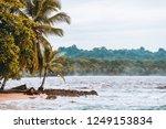 manzanillo beach in the costa... | Shutterstock . vector #1249153834