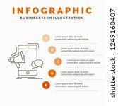 bullhorn  marketing  mobile ... | Shutterstock .eps vector #1249160407