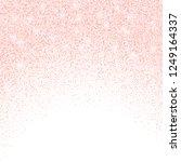 vector falling pink glitter... | Shutterstock .eps vector #1249164337