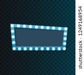 light frame with many little... | Shutterstock .eps vector #1249168954