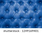texture of genuine blue leather ... | Shutterstock . vector #1249169401