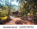 abandoned house on manzanillo... | Shutterstock . vector #1249178701