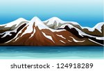 Illustration Of Mountains...