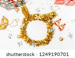 christmas composition.... | Shutterstock . vector #1249190701