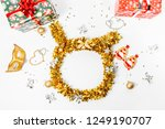 christmas composition.... | Shutterstock . vector #1249190707