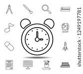 alarm clock icon. simple...