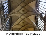 arch of cathedral of st. vitus... | Shutterstock . vector #12492280