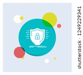 defence  firewall  protection ... | Shutterstock .eps vector #1249229341