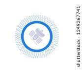 broadcast  broadcasting ... | Shutterstock .eps vector #1249267741