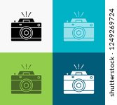 camera  photography  capture ... | Shutterstock .eps vector #1249269724
