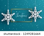 holiday greeting card | Shutterstock .eps vector #1249281664
