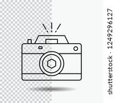 camera  photography  capture ... | Shutterstock .eps vector #1249296127