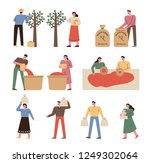 an illustration of the process... | Shutterstock .eps vector #1249302064