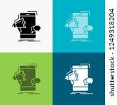 bullhorn  marketing  mobile ... | Shutterstock .eps vector #1249318204