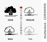 cloud  upload  save  data ... | Shutterstock .eps vector #1249344934
