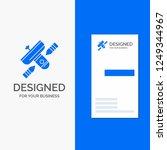 business logo for broadcast ... | Shutterstock .eps vector #1249344967