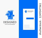 business logo for bullhorn... | Shutterstock .eps vector #1249347361