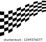 flag race vector icon | Shutterstock .eps vector #1249376077