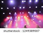 concert light. empty music... | Shutterstock . vector #1249389007