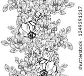 abstract elegance seamless... | Shutterstock .eps vector #1249391317