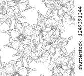 abstract elegance seamless... | Shutterstock .eps vector #1249391344