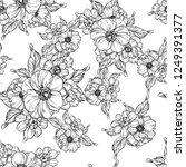 abstract elegance seamless... | Shutterstock .eps vector #1249391377