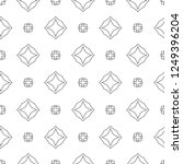 seamless vector pattern in... | Shutterstock .eps vector #1249396204