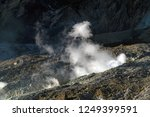 active volcanoes at java island.... | Shutterstock . vector #1249399591