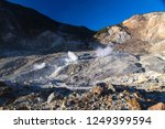 active volcanoes at java island.... | Shutterstock . vector #1249399594
