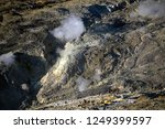 active volcanoes at java island.... | Shutterstock . vector #1249399597