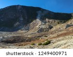 active volcanoes at java island.... | Shutterstock . vector #1249400971