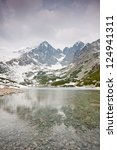 High Tatras With Snowy Peaks...