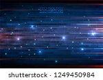 digital hi tech concept... | Shutterstock .eps vector #1249450984