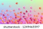 valentine's day background.... | Shutterstock .eps vector #1249465597